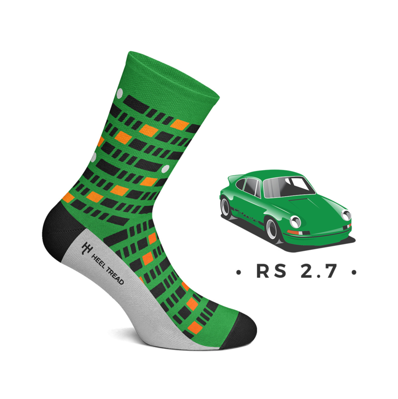 Porsche RS 2.7 - HEEL TREAD Socks