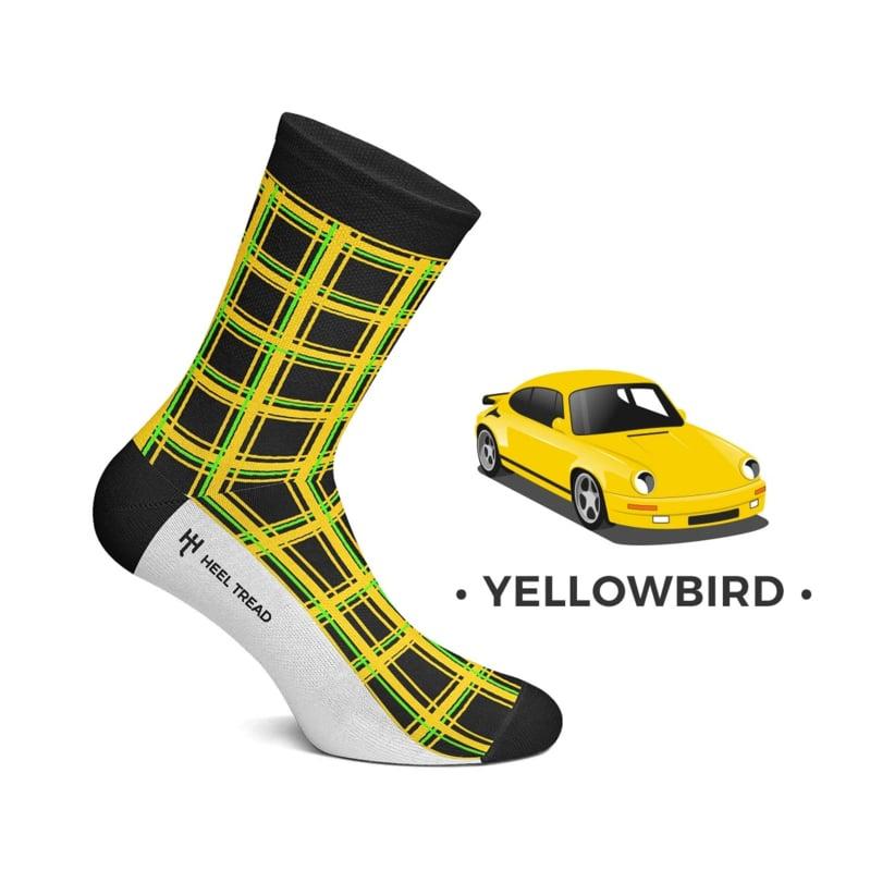 Porsche RUF CTR Yellowbird - HEEL TREAD chaussettes