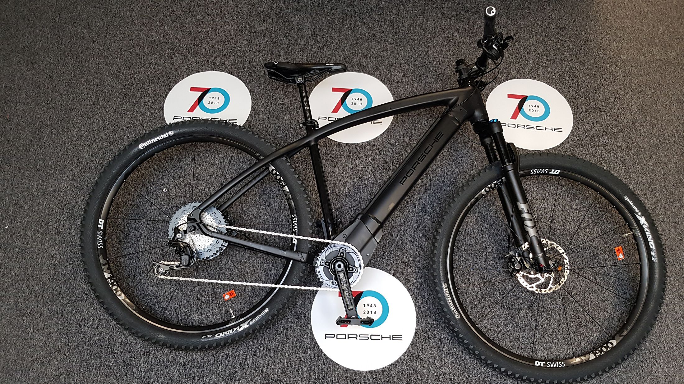 PORSCHE E-Bike MTB Rotwild Limited Edition 70 Jahre.