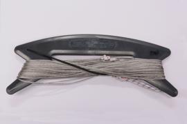 Vector Colour kitelines 2 x 20 meter, 50kg. grijs