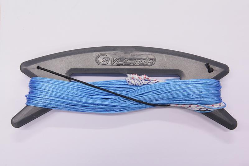 Vector Colour kitelines 2 x 20 meter, 210kg. blauw