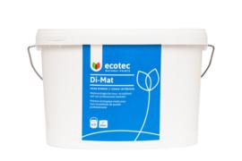 Di-mat dispersieverf basis wit 5 liter, voor ca. 44 m²