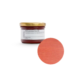Kleurwax rood - 0,2 liter in pot