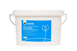 Eco-Satin Wit 2,25 liter, ca. 20 m²