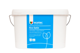 Eco-Satin Wit 4,5 liter, ca. 40 m²