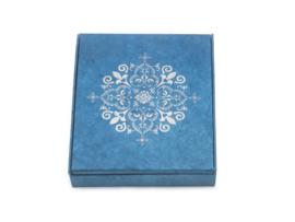 Altaardoos - blauw/ zilver
