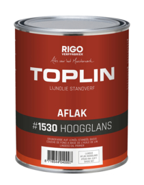 Toplin Aflak Hoogglans basis wit 0,97 liter blik