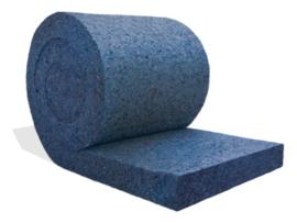 Rollen isolatie RRT050 (50mm dik) 9m²/rol, R-waarde 1,25