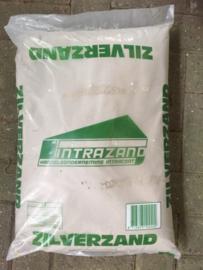 Zilverzand, geschikt voor de laatste laag bij fresco, de Intonaco, zak 25 kg