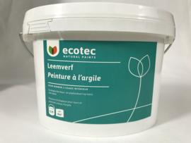 Leemverf basis wit 0.9 liter ca. 8 m²