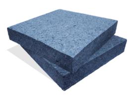 Platen thermische isolatie 20 kg/m³
