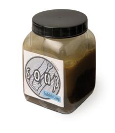 Soap - Tadelakt zeep, 500 g plastic container ca. 25m²