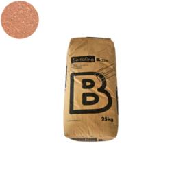 Base rood met stro, aardvochtig 25 kg/zak