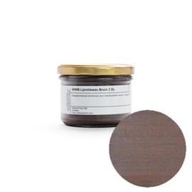 Kleurwax bruin - 0,2 liter in pot