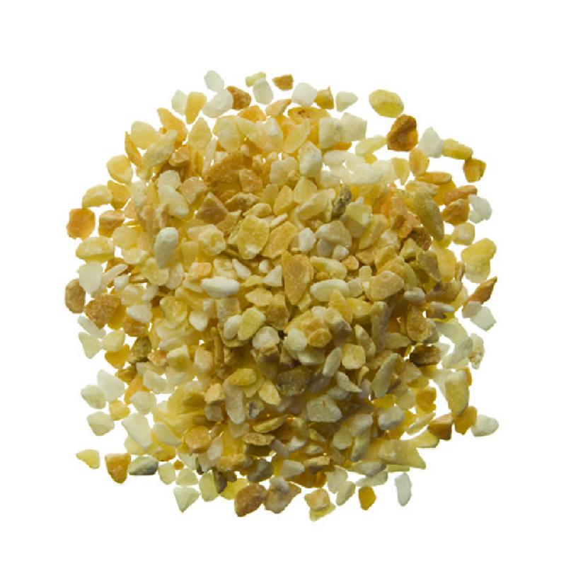 Geel Sienna zand 1,2 t/m 1,8 mm, zak 1 kg