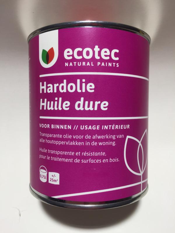 Hardolie kleurloos 0,75 l