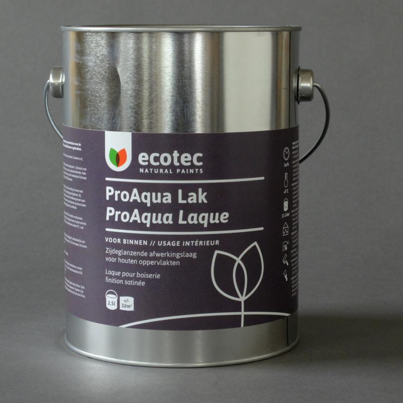 Pro Aqua lak kleur 9,5 liter - ca. 140m²