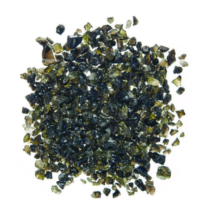 Zwarte glimmer 0,8 t/m 1,4 mm, 1kg zak
