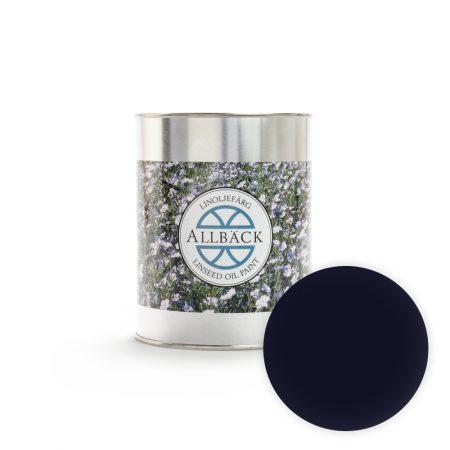 Lijnolieverf royal blue 1 liter