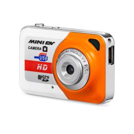 Mini camera oranje