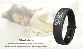 Smart bracelet W5, zwart