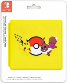 Nintendo switch Game card case Pikachu & Eevee