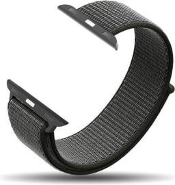 Nylon bandje zwart 42/44mm