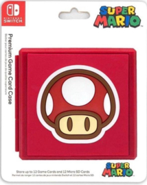 Nintendo switch Game card case Mario Toad