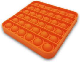 Pop It fidget Vierkant Oranje