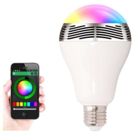 Led lamp met Bluetooth speaker, NIEUW
