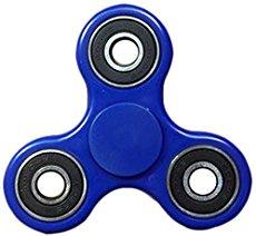 Fidget spinner blauw