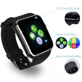 Smartwatch X6 zwart