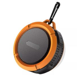 Waterdichte bluetooth speaker oranje