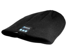 Bluetooth muts zwart met speakers