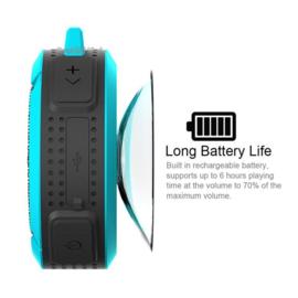 Waterdichte bluetooth speaker oranje