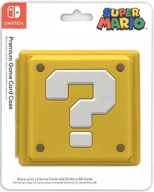Nintendo switch Game card case vraagteken