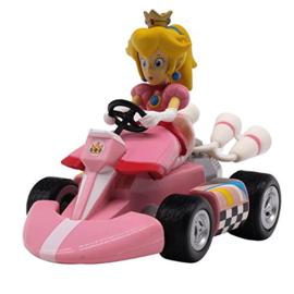 Mario Kart Princess Peach Pull Back Racers
