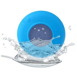 Bluetooth shower speaker blauw