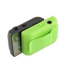 Mini MP3 speler met oortjes groen