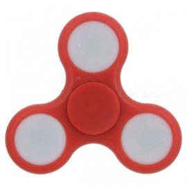 Fidget spinner met led, rood