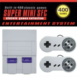 Spelcomputer Mini SFC met 400 spellen