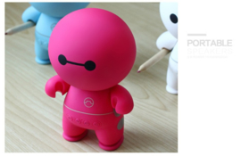 Bluetooth speaker cartoon roze