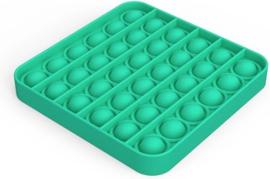 Pop It fidget Vierkant Groen