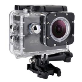 Action cam ultra HD zwart