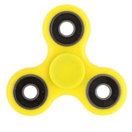 Fidget spinner geel