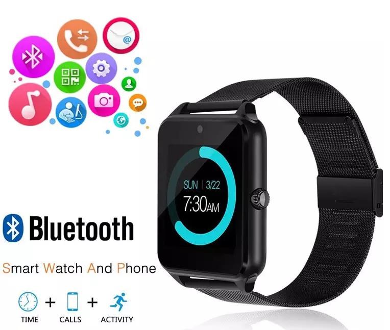 Smartwatch Z60 zwart