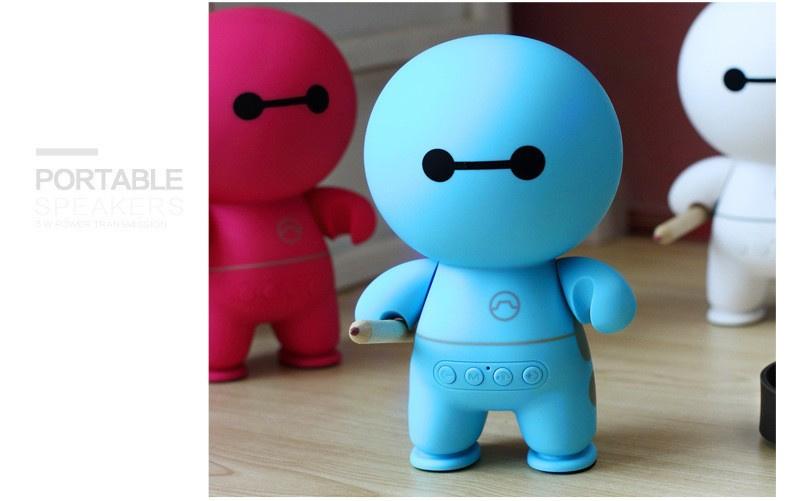 Bluetooth speaker cartoon blauw
