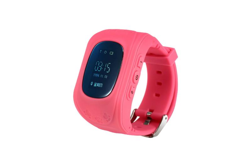 Kids Watch met GPS en locatie zoeker, roze