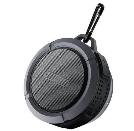 Waterdichte bluetooth speaker zwart