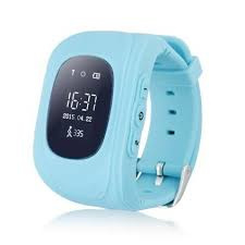 Kids Watch met GPS en locatie zoeker, blauw